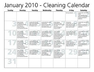 Neat way to organize your daily and seasonal cleaning schedule ...